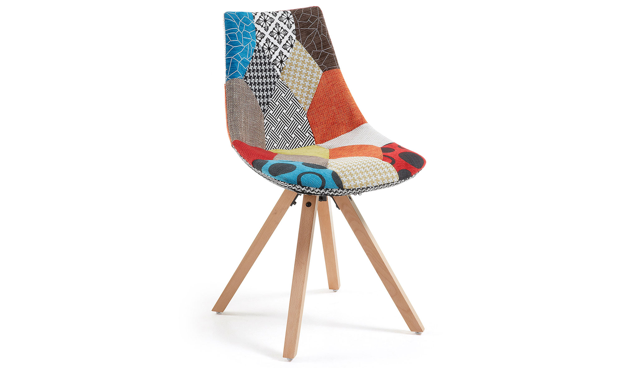 Silla patchwork moderna armony en for Muebles patchwork
