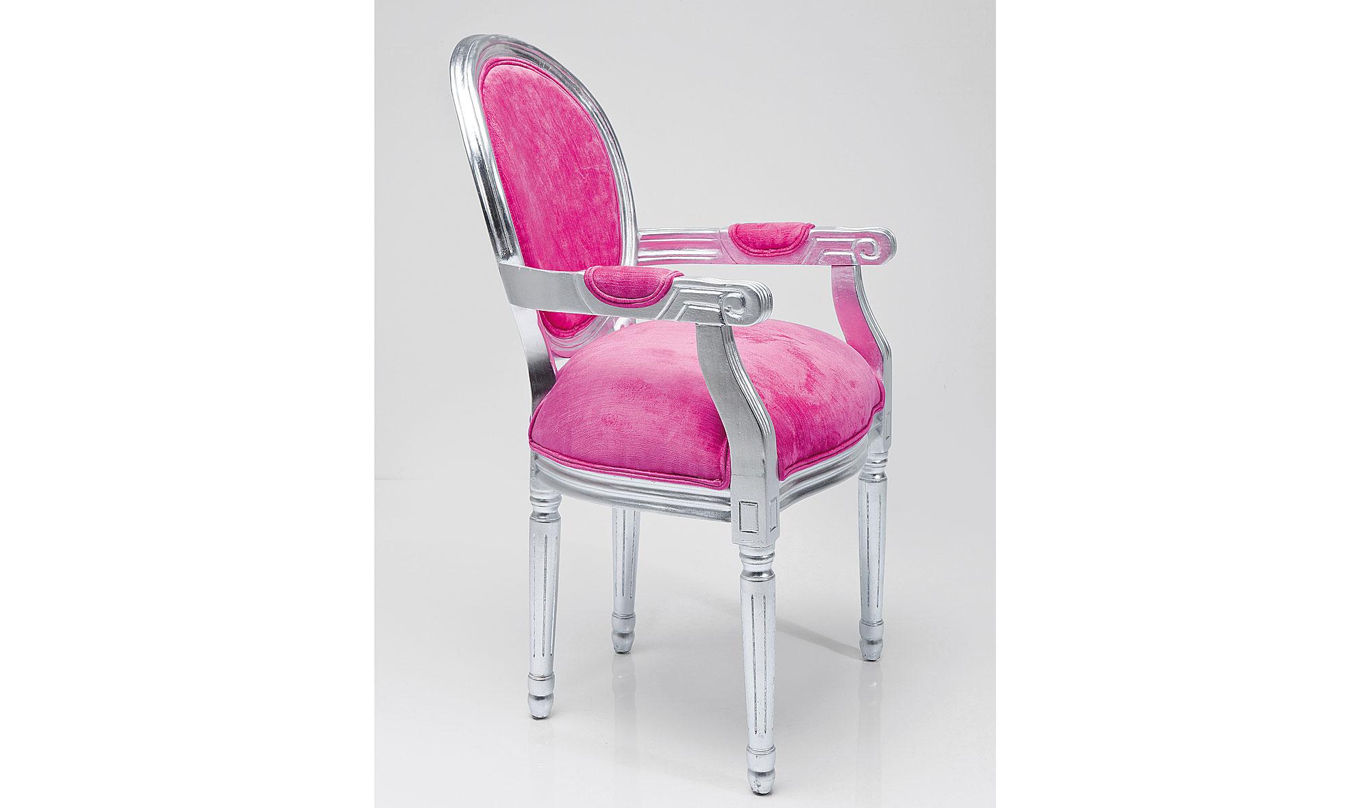 Silla vintage Louis rosa no disponible en Portobellostreet.es