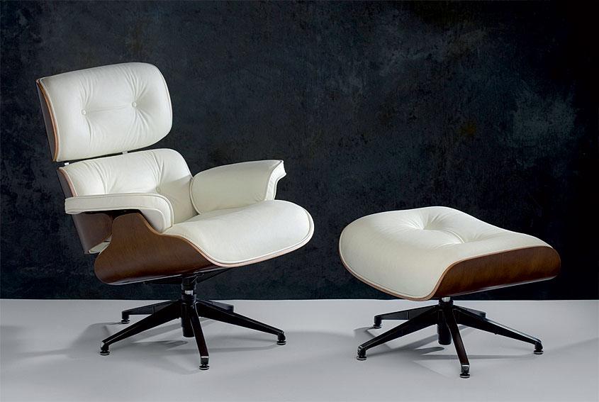 Sill n relax con escabel blanco en - Sillas y sillones clasicos ...