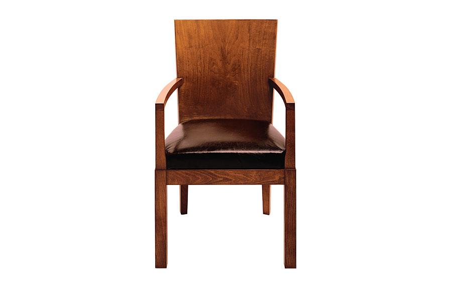 Sill n madera cl sico tapizado blanco mogo en cosas de - Sillas y sillones clasicos ...