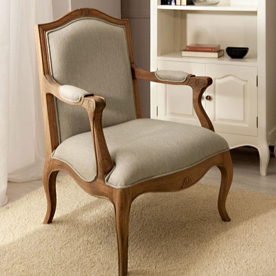 Sill n tapizado vintage par s en for Tapizado de muebles