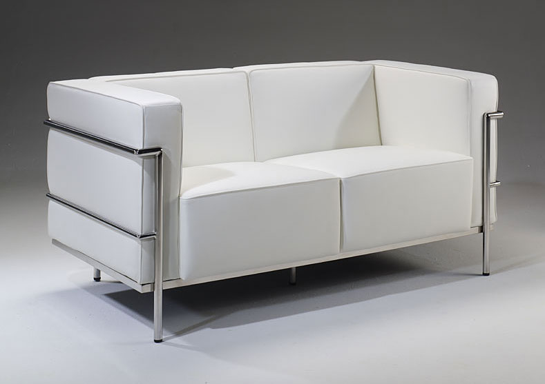 Sof 2 plazas de piel lercoser no disponible en for Sofa exterior 2 plazas
