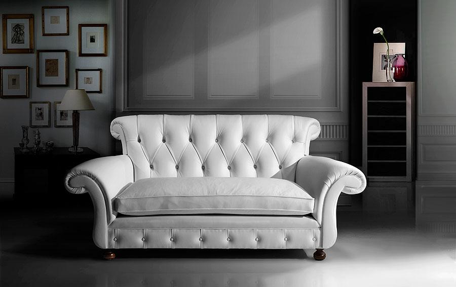 Sofa moderno piel central perk en for Muebles italianos de lujo