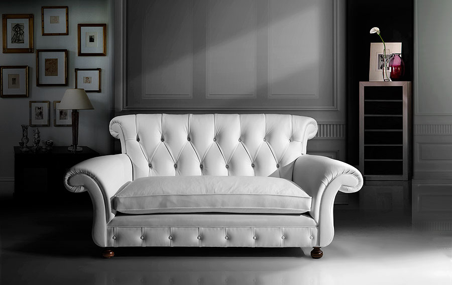 Sofa moderno piel central perk en - Sillones para restaurar ...