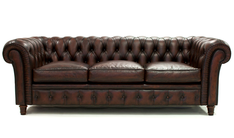 Chesterfield chaise sofa sof chester con capiton piel for Sofas chesterfield baratos