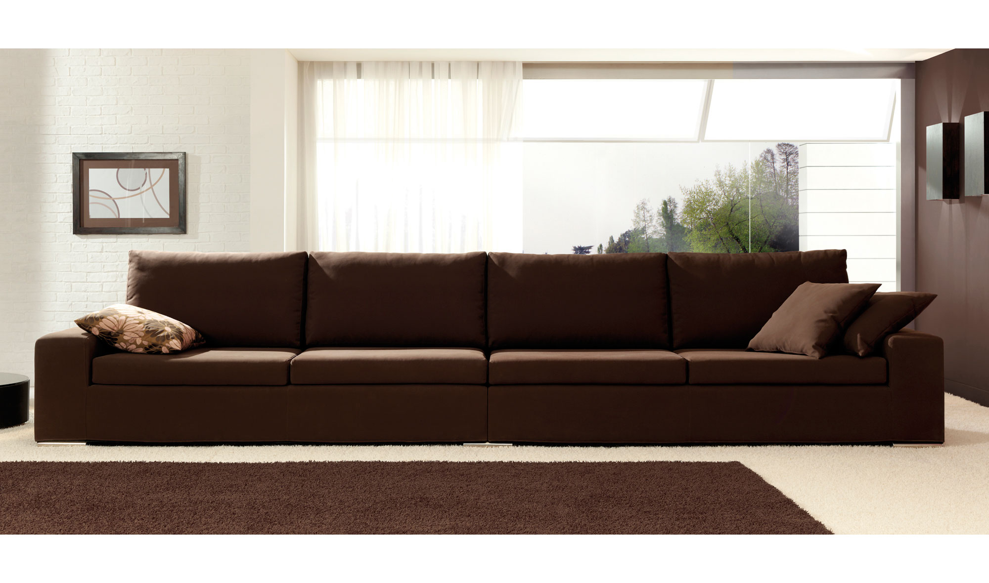 Sof moderno macro en for Muebles del mundo