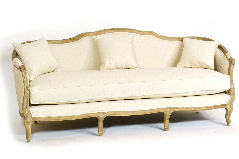 Sof reims blanco roto tapizado no disponible en - Muebles blanco roto ...