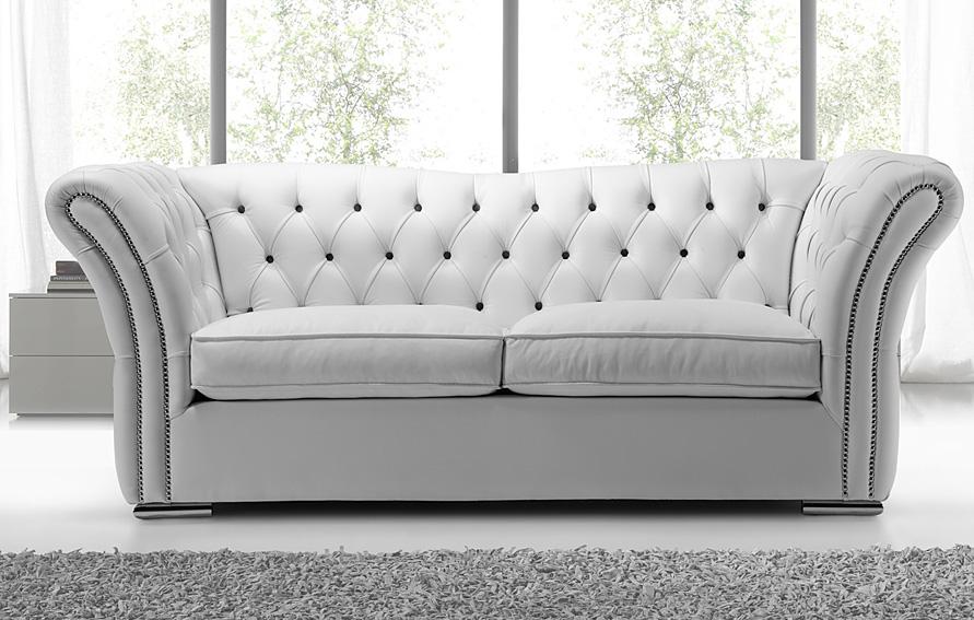 Sof vintage de piel villamagna en for Sofas y sillones de piel