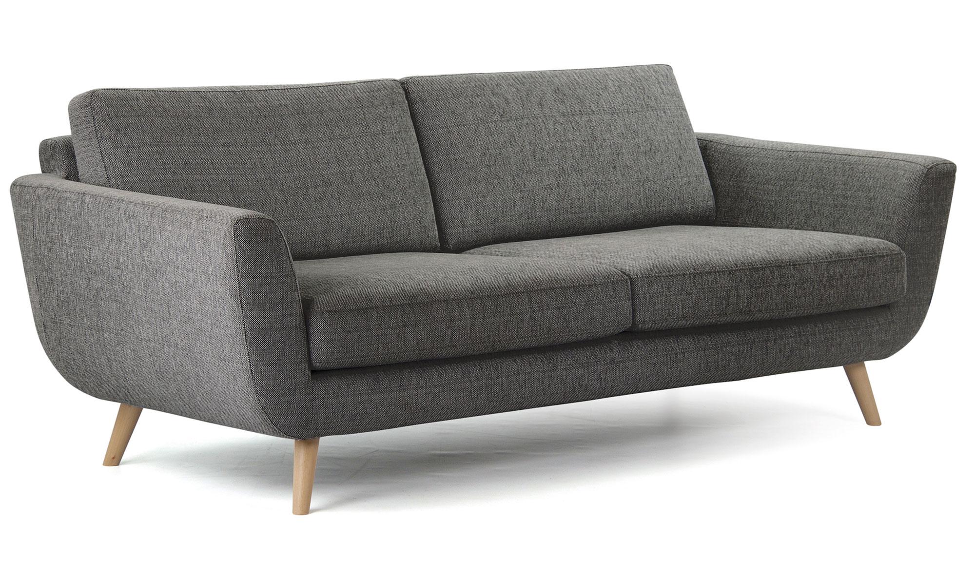 Sofá gris nórdico Alifan