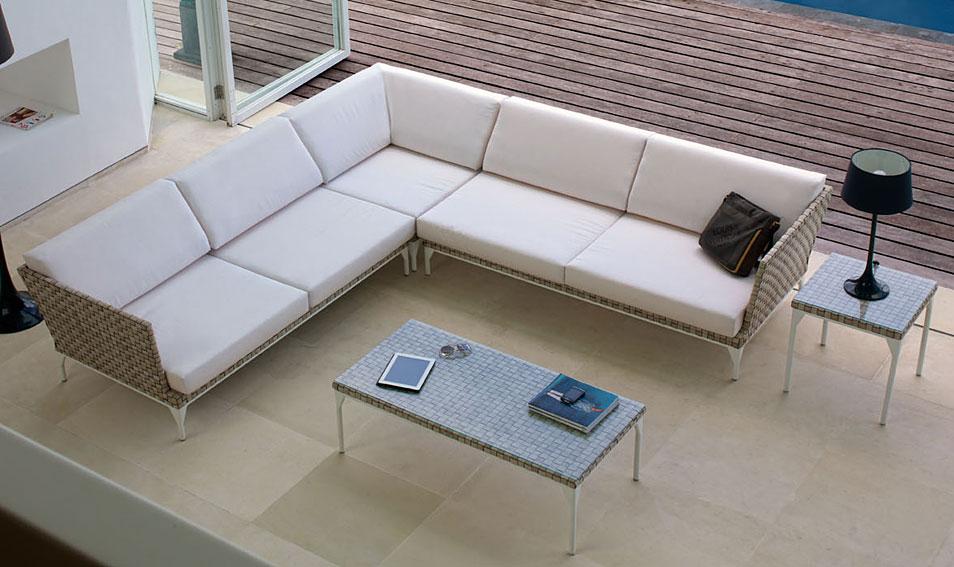Sof modular de jard n brafta en for Sofa modular jardin