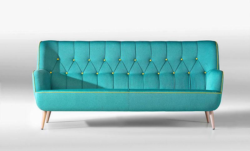 Sofa vintage madison en - Sofa piel vintage ...