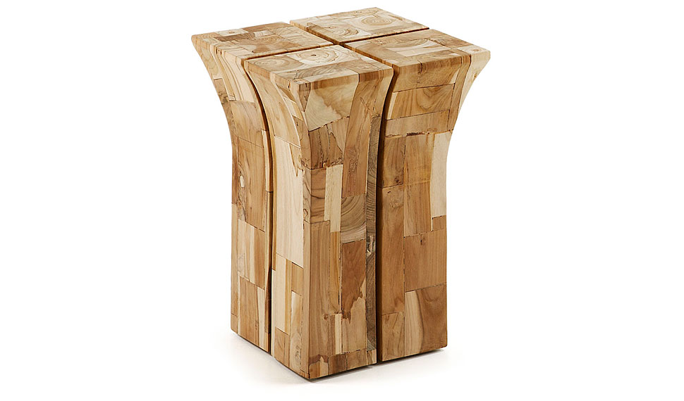 taburete foxton madera teca natural no disponible en