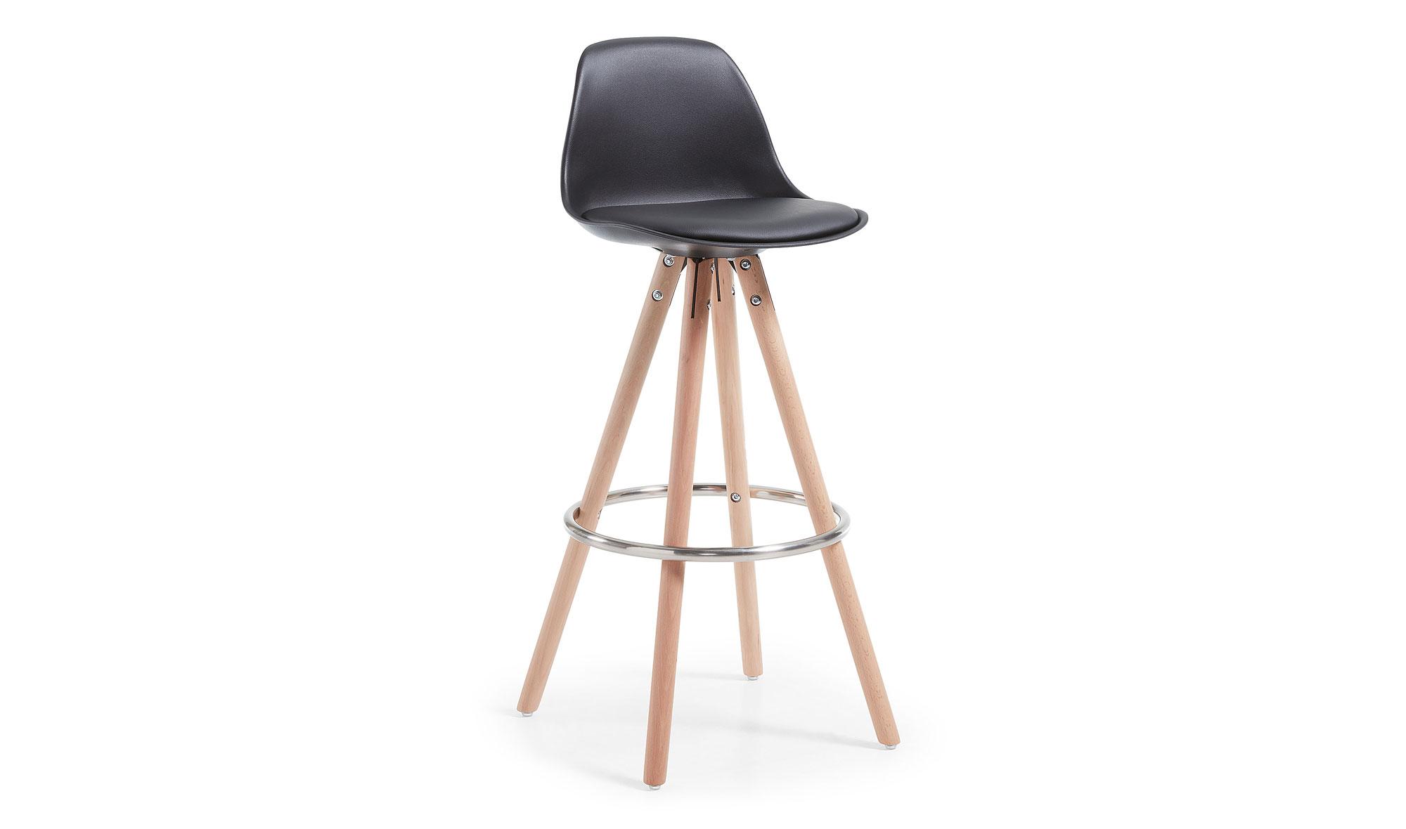 taburete madera natural moderno gast de lujo en tu tienda de muebles de lujo