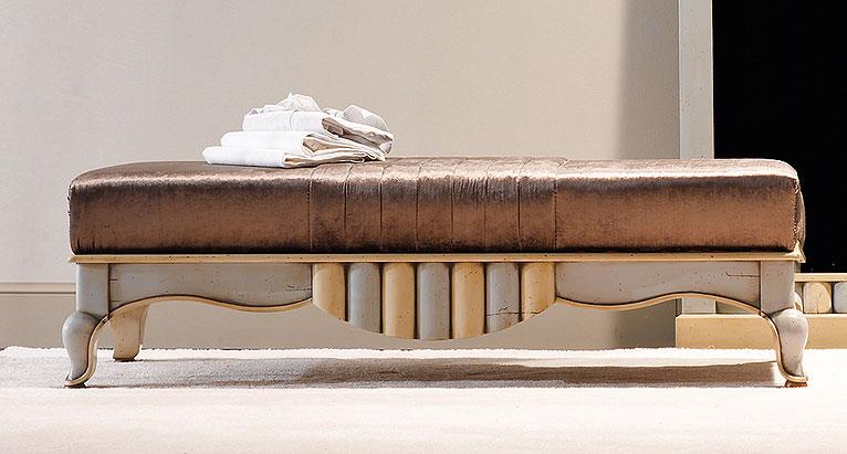 Taburete pie de cama vintage valois en - Pie de cama ...