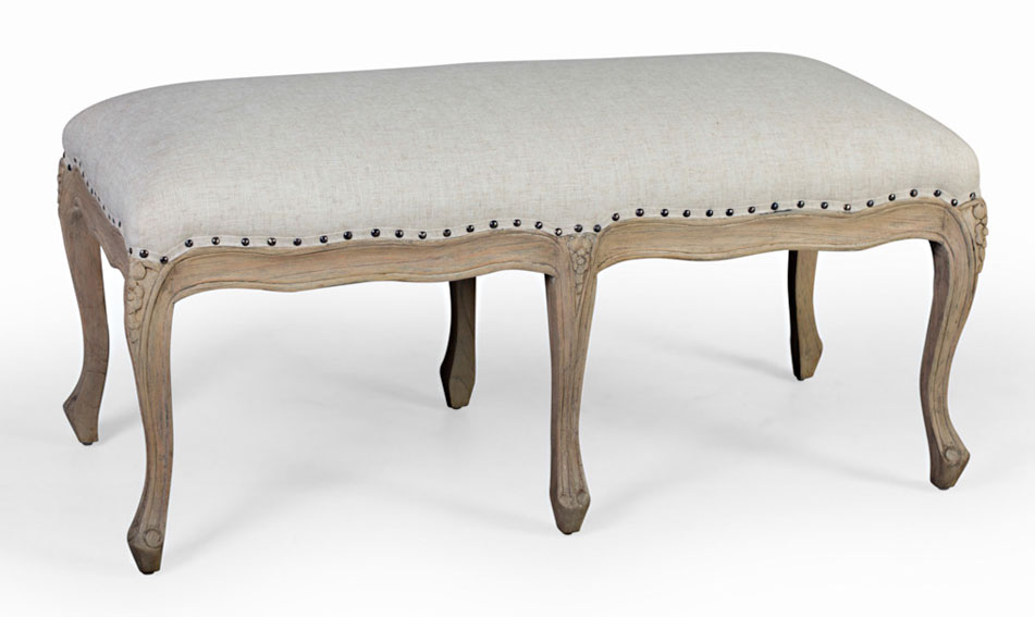 Taburete pie de cama vintage artisan no disponible en for Mueble pie de cama
