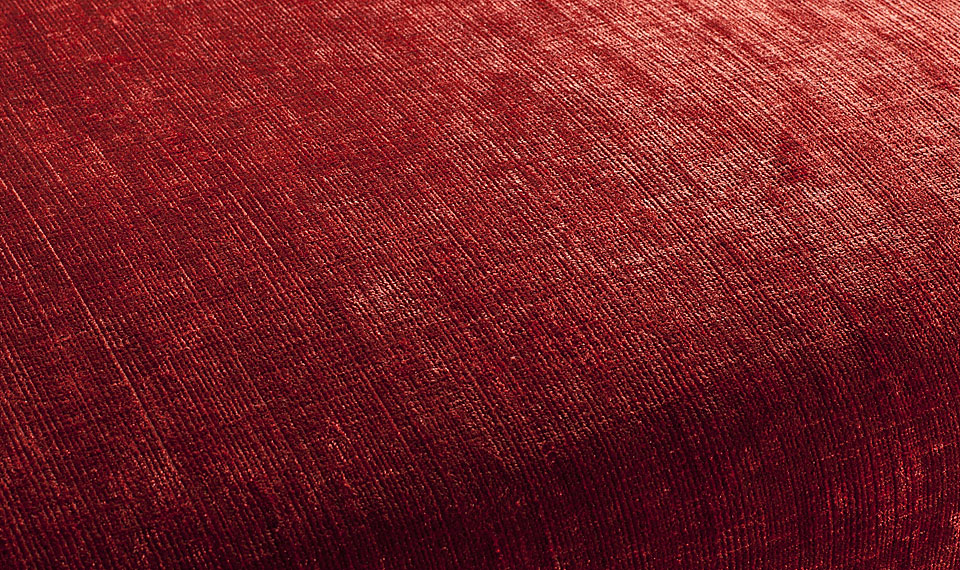 Tela chenille rojo en for Telas para sillones