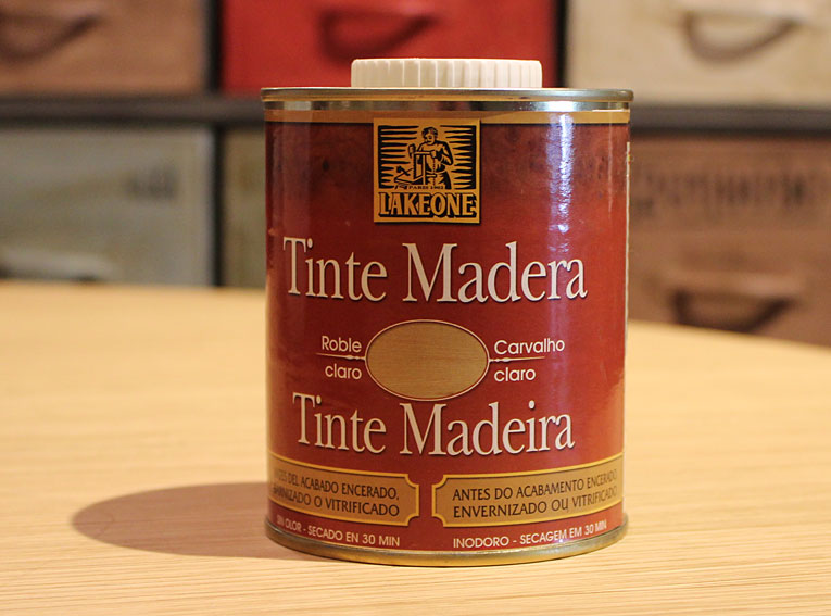 Tinte de madera color roble claro lakeone no disponible en - Tintes para madera de pino ...