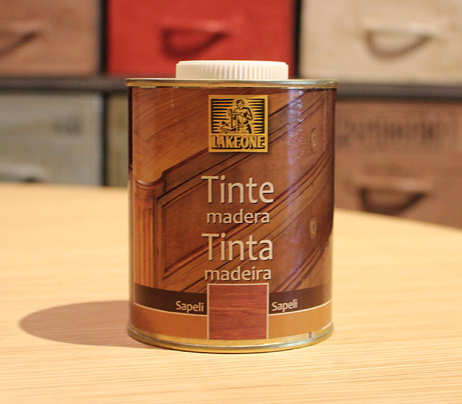Tinte de madera color sapeli lakeone en - Tinte para madera ...