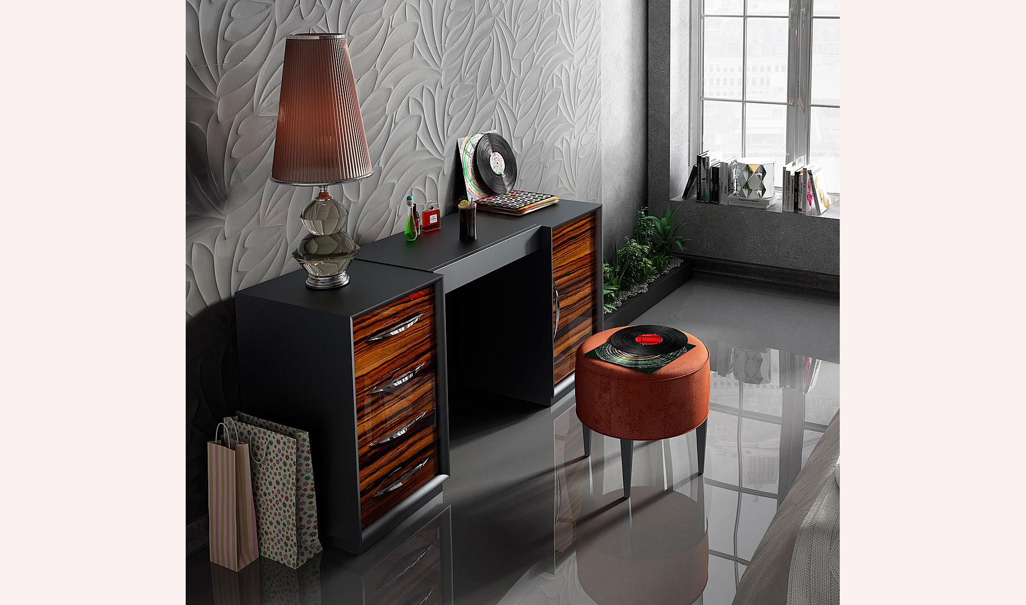 Tocador moderno bella adrianna no disponible en - Mueble tocador moderno ...