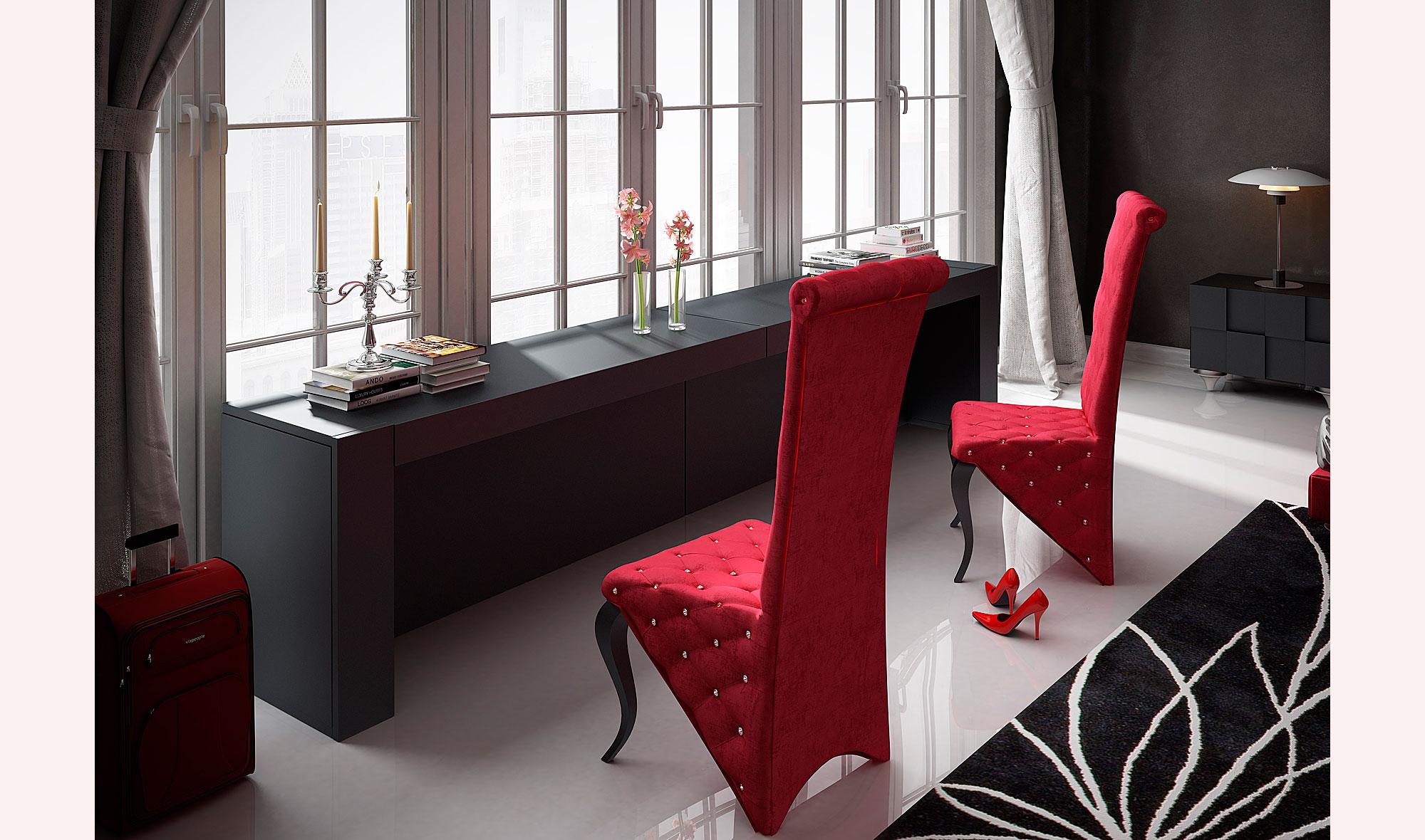 Tocador moderno bella audrey no disponible en - Mueble tocador moderno ...