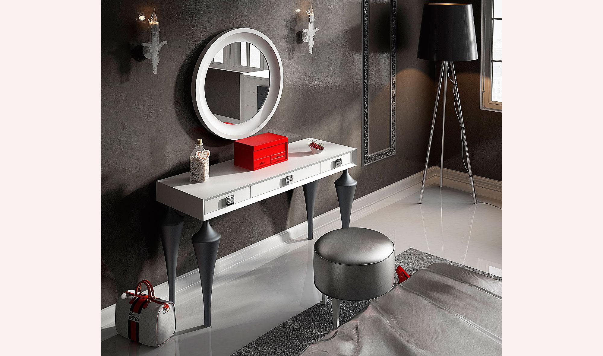 Tocador moderno bella cherry no disponible en - Mueble tocador moderno ...