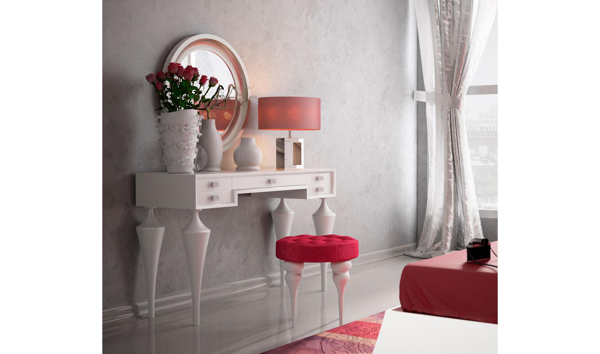Tocador moderno bella rose no disponible en - Mueble tocador moderno ...