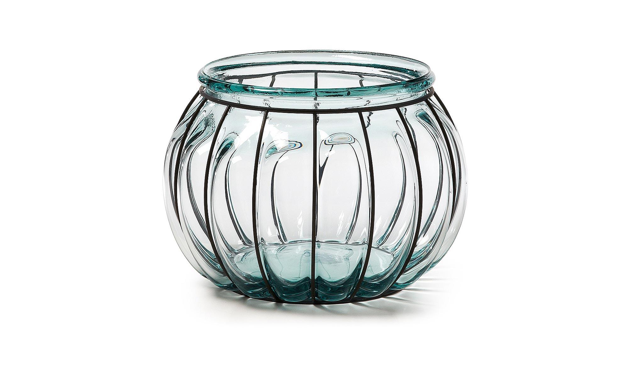Vel�n de vidrio reciclado con hierro III