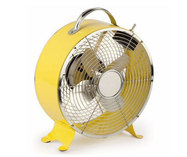 Ventilador de sobremesa amarillo triton no disponible en - Ventilador de sobremesa ...