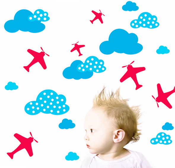 Vinilo baby planes