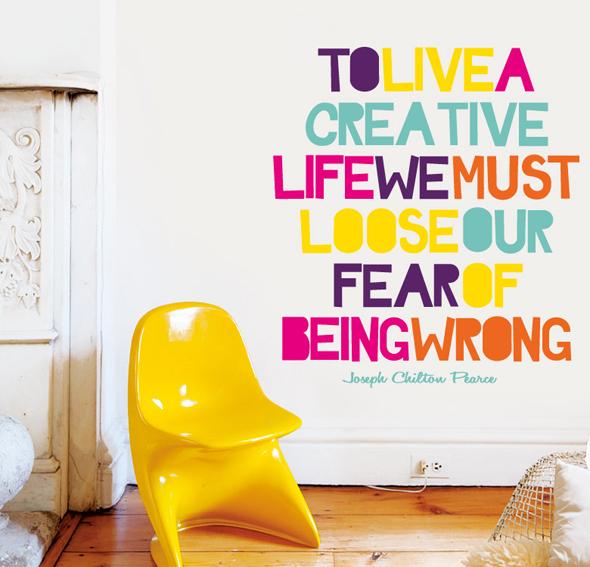 Vinilo creative life