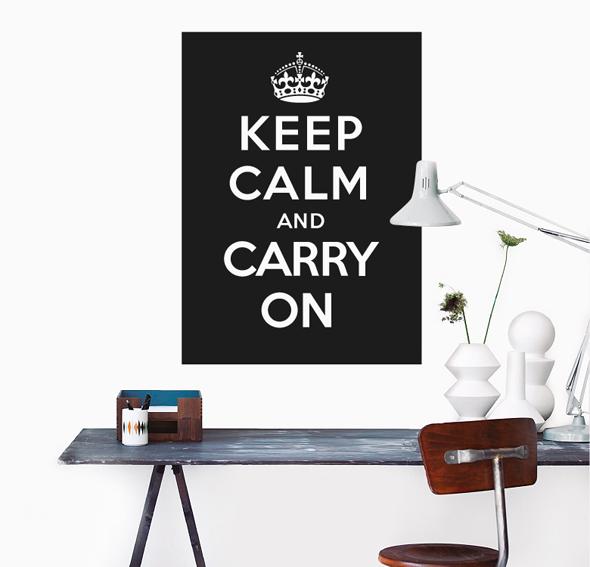 Vinilo keep calm 2