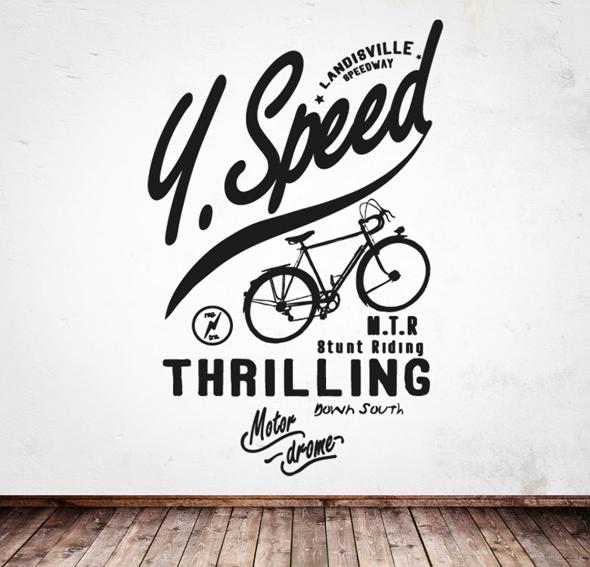 Vinilo speed