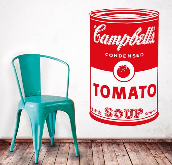 Vinilo tomato soup