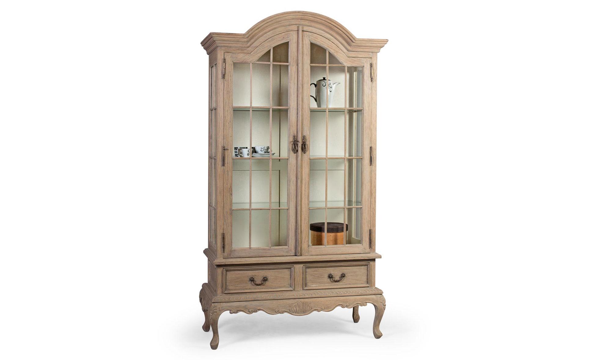 Vitrina 2 puertas emilie vintage artisan en for Artisan muebles