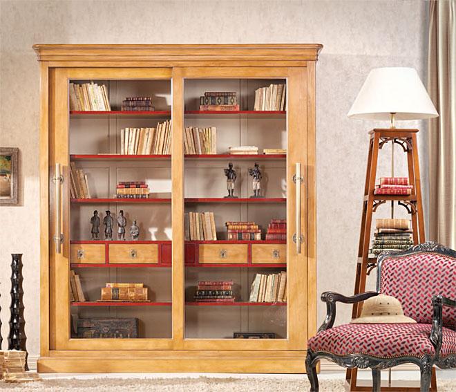 Vitrina cl sica dasha en - Muebles comodas clasicas ...