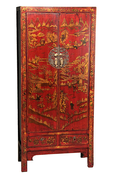 Armario chino de boda roja chung no disponible en - Armario de boda chino ...