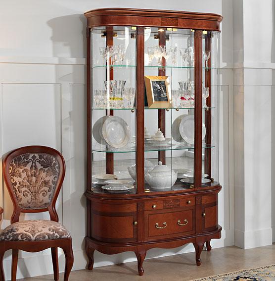 Vitrina cl sica acasio en - Muebles comodas clasicas ...