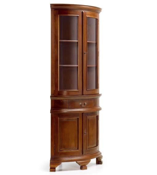 Vitrina rinconera 4 puertas vintage no disponible en - Rinconeras de madera ...