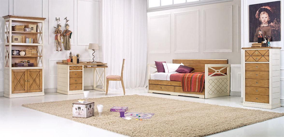 Dormitorio juvenil diane en for Dormitorios para universitarios