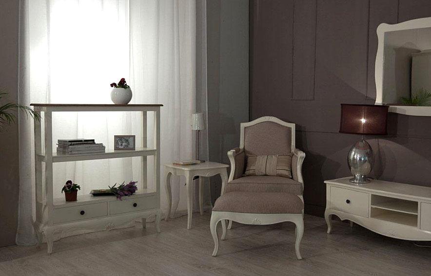 Sal n vintage par s cardiel en for Muebles de salon estilo vintage