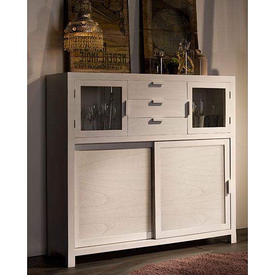 Aparador puertas correderas madera ivana no disponible en - Muebles puertas correderas ...