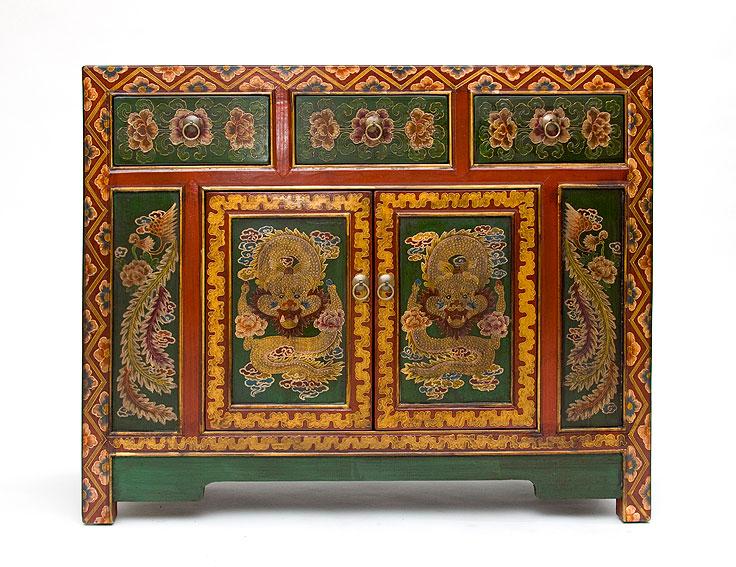 Aparador tibetano no disponible en for Muebles tibetanos