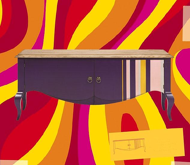 Aparador vintage cool en for Muebles cool