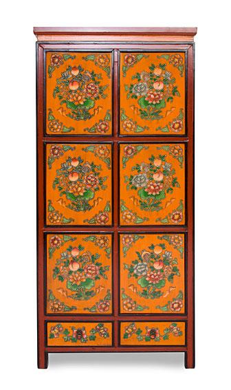 Armario tibetano 6 puertas 2 cajones no disponible en for Muebles tibetanos