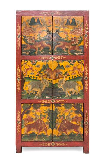 Armario tibetano 6 puertas iii no disponible en for Muebles tibetanos