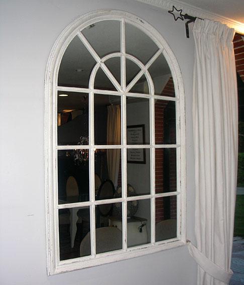 Espejo pared blanco roto no disponible en for Paredes blanco roto