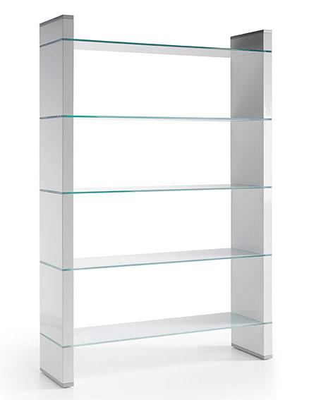 Libreria moderna hall 9000 no disponible en for Muebles de cristal