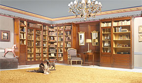 Salón clásico Marcel