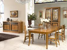 Mesa de comedor clásica Romeo