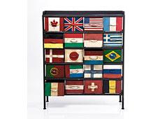 muebles con banderas